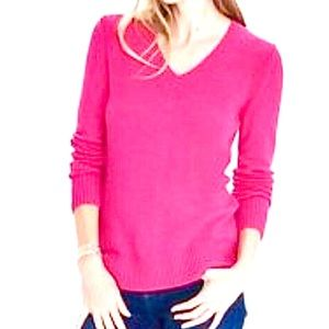 Banana Republic wool pink sweater pullover S